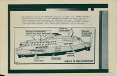 The Layout of the Townsend Thoresen car ferry.