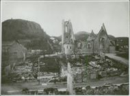 A partial view of Norway during the German invasion.
