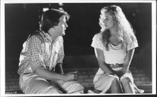Demi Moore and Jeff Daniels in the movie The Butchers wife, 1991.