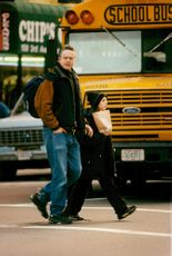 Tim Robbins, actor and director, here with her daughter Eva