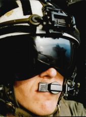 An American pilot from the US Navy