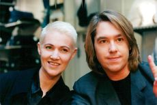 Roxette. Marie Fredriksson and Per Gessle