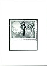 The 1985 Saint Valentine's Day Stamp.