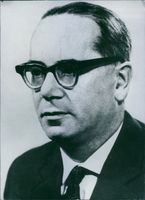 Photograph of Mr. Eugeniusz Szyr. Former Polish Politician.