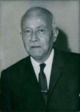 Portrait of Ahmad Touqan, 1971.