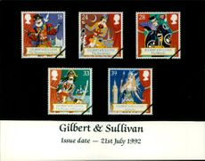 The Gilbert and Sullivan Stamps.