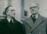 Peace Conference in Stockholm where Pastor André Trocmé and Henri Roser from France participate. - 22 March 1946