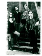 "Matt Dillon along with actresses in the movie ""Drugstore Cowboy""."