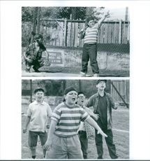 """A scenes from the film """"The Sandlot""""."""
