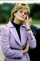 Prinsessan Diana besöker Royal Air Force Bas of Wittering