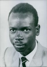 Portrait of The Hon. V.K. Rwamwaro, M.P. Uganda Politician.