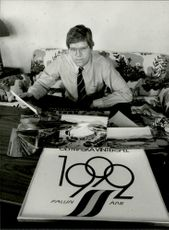 The OS base Sven von Holst is dreaming of the Winter Olympics in Falun in 1992