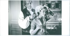Thandie Newton and Nick Nolte in the film of Jefferson in Paris.