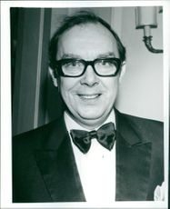 Portrait of Eric Morecambe.