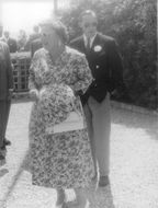 Juliana, Queen of the Kingdom of the Netherlands and Prince Bernhard visiting Greece.