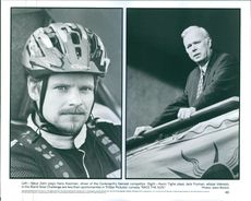 "Left- Steve Zahn plays Hans Kooiman and right- Kevin Tighe plays Jack Fryman from the comedy-drama film ""Race the Sun"". 1996"