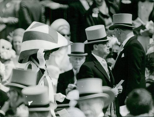 People gathered during an event.1967