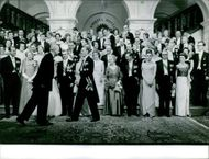 In spring 1962, the Queen Juliana of the Netherlands celebrated its 25 years of marriage.