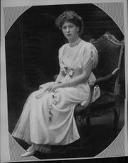 Princess Mary, daughter of King George V and Queen Mary, mother of George Lascelles, Earl of Harewood.