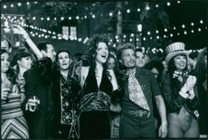 A scene from the film The People vs. Larry Flynt.