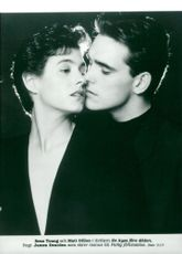 """Matt Dillon along with Sean Young in the movie """"A Kiss Before Death."""""""