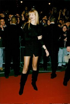 Claudia Schiffer at Fashion Cafe in London