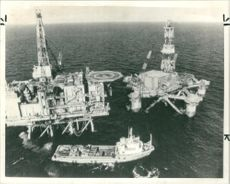 Night of disaster in the north sea.