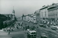 One of the main streets of Saint Petersburg