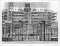 Charles, Prince of Wales' house in under construction.