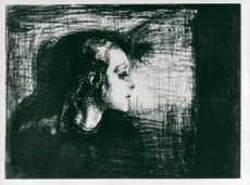 "Picture of Edvard Munch's ""The Sick Girl"""