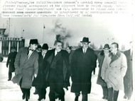 Telephone by Averell Harriman with Polish Deputy Foreign Minister Wienewicz and Polish Ambassador John Gronou on the way to the airport