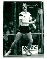 Squash player Ross Norman