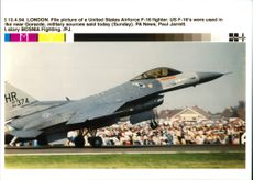 Aircraft: Military - United States Airforce F-16 fighter