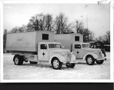 New truck ambulance car vehicles for Finland