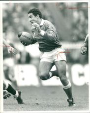 Serge Blanco Rugby player.
