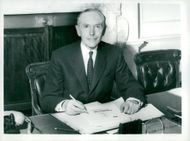Britain's new prime minister Sir Alec Douglas-Home