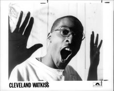 A portrait of Cleveland Watkiss for an album cover.