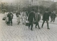 Country Storm mobilize in Gothenburg, 1914.