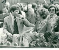 Prince andrew with miss reagan.