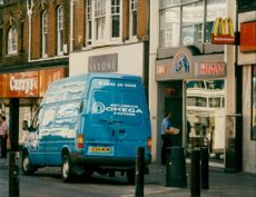 Securicor Omega Express is the UK's largest high street operator.