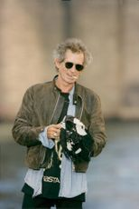 Keith Richards walks the farthest streets of New York