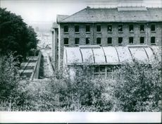 A view of a building.  1960