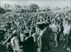 Diamond workers on strike, 1981.