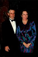 Princess Christina and her husband Tord Magnusson at gala dinner at the National Museum