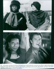 Scenes from the movie The Associate with Whoopi Goldberg, Dianne Wiest and Tim Daly, 1996.