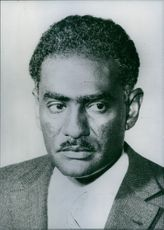 Sudanese politician, Sayed Ahmed Suliman, 1970.