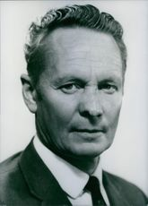 A portrait of H.E.C. Pickering in 1971.