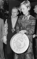 A man and a woman from the royal family. This photo is from the folder Prince Laurent. 1971