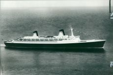 A drawing of the 2,400 passenger cruise ship Norway.