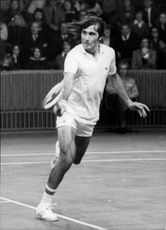 Ilie Nastase Romanian tennis player